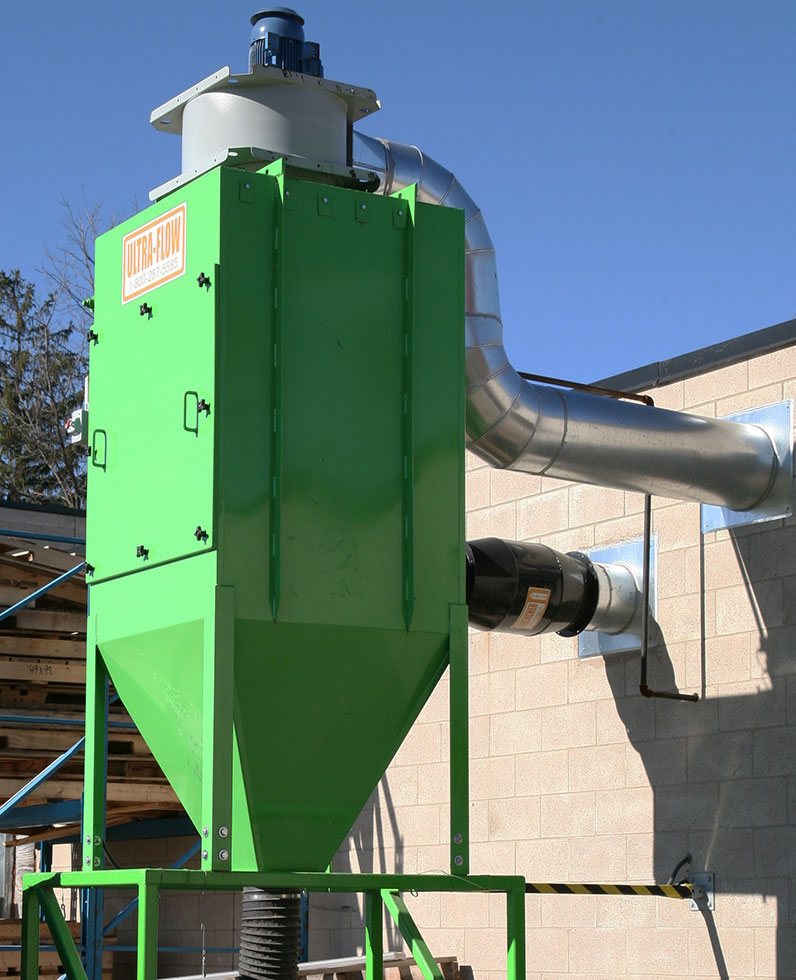 Small Baghouse Dust Collector